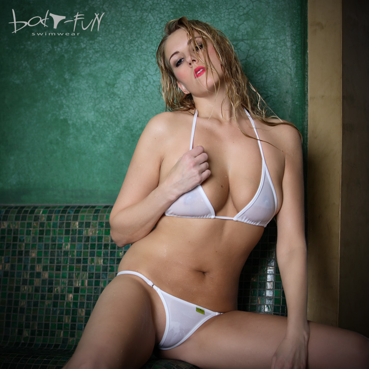 String Bikini | Agaat Wit