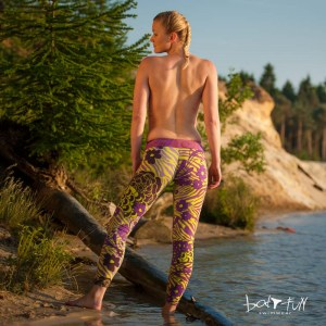 Dames Legging-Tregging |  Flower Power 2